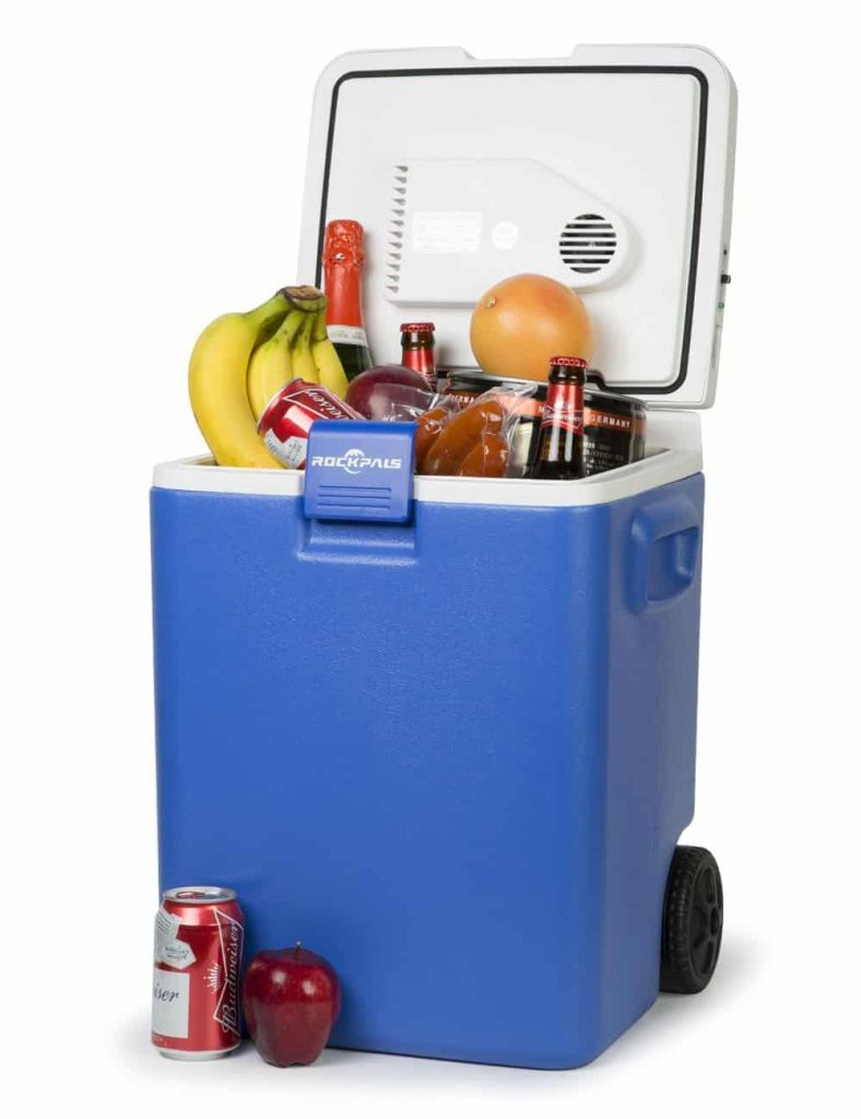 Rockpals Wheeled-Electric Cooler