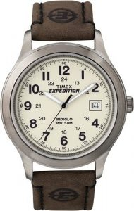 Timex T49870 Leather Watch