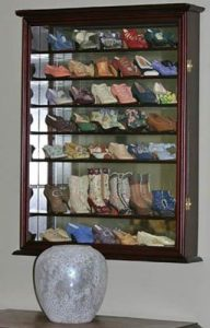 DisplayGifts Glass Display Cabinet