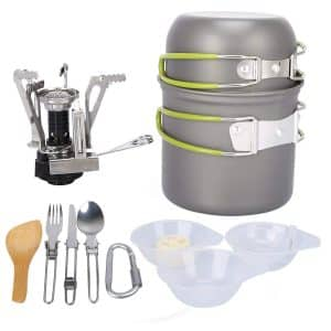 G4Free Camping Cookware Set