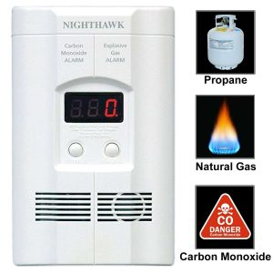 Kidde KN-COEG-3 Nighthawk Carbon Monoxide Plug-In