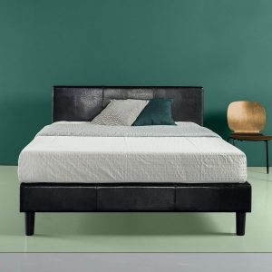 Zinus Faux Leather Bed