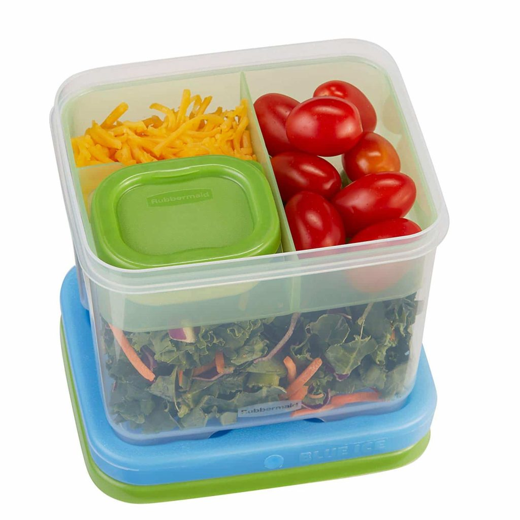 Rubbermaid Lunch Blox Container Salad Kit