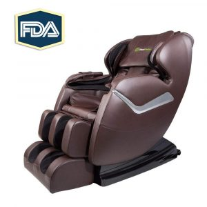 Real Relax Electric Massage Chair Recliner with Foot Rollers and Heat