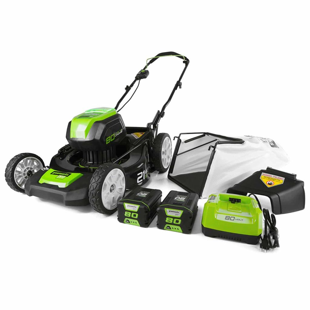 Greenworks PRO 80V 21-Inch GLM801601 Cordless Lawn Mower