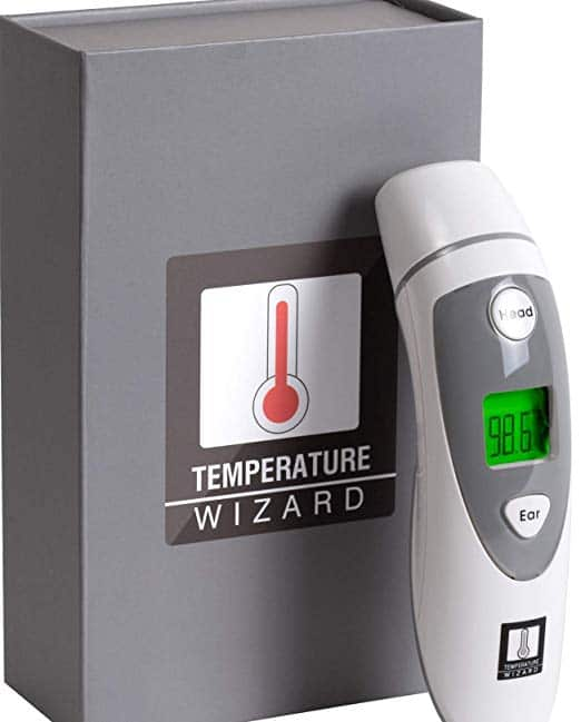 Temperature Wizard Ear and Forehead Thermometer