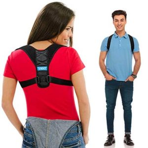 Comfortable Upper Back Brace Clavicle Support Device for Thoracic Kyphosis and Shoulder