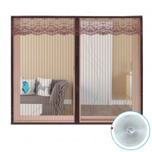 Mosquito silencer window screens