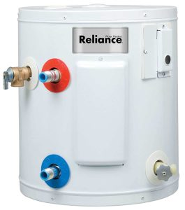 Reliance Electric Water Heater-6 Gallon Capacity