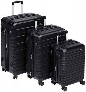 AmazonBasics Hardside Spinner Luggage - 2 Piece Set