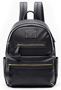 Backpack Women Leather Backpack for Women with USB Charger