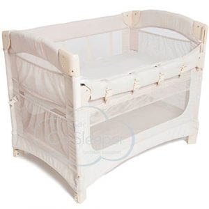 Ideal Ezee 3-in-1 Bedside Bassinet - Natural