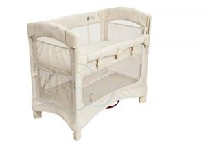 Mini Ezee 2-in-1 Bedside Bassinet - Natural