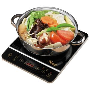 """Rosewill 1800 Watt Induction Cooker Cooktop, Included 10"""""""