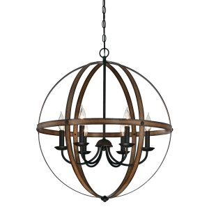 Westinghouse Lighting Stella Mira Six-Light Chandelier Lighting