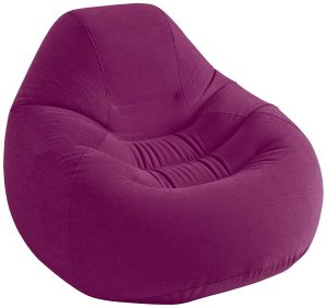 Intex Deluxe Inflatable Chair, Grape