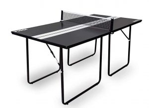 JOOLA Midsize Compact Free Standing Table Tennis Table