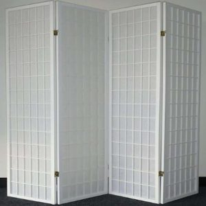 Legacy Decor Japanese-Oriental-Style 4-Panel privacy screen