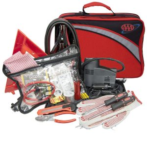 Lifeline 4388AAA 76-Piece Car Excursion Road First Aid Kit