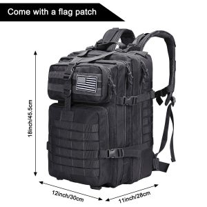 Prospo 40L Military Fishing Backpack for Camping and Trekking
