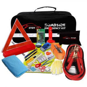 STDY Auto Multifunctional 57-in-1 Roadside Emergency Safety Kit
