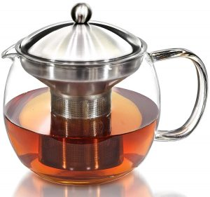 Willow & Everett Teapot maker with Warmer and Tea Infuser Set