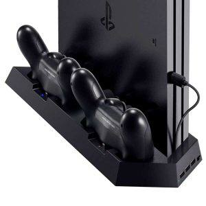Colleer PS4 Controller Dual Charger Ports