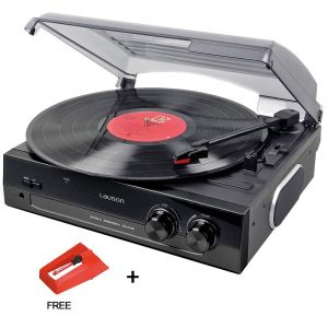 Lauson CL502 Vinyl-To-MP3 Turntable USB with Built-in Speakers