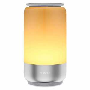 SYCEES Dimmable LED Night Light, Stepless Dimming