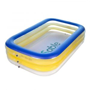 Sable Rectangular Giant Inflatable Pool