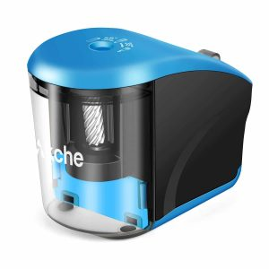 Akche Electric Pencil Sharpener, USB/Battery-Operated