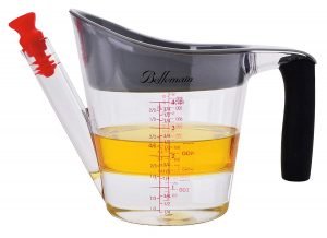 Bellemain Fat Separator with Strainer &and Fat Stopper