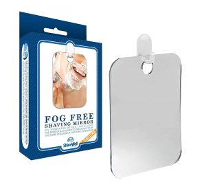 Deluxe Shave Well Fog-free Shower Mirror