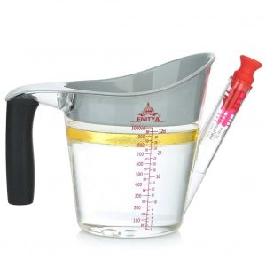 ENITYA Fat Separator- 4 Cup with a Slip Resistant Handle