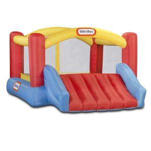 Little T ikes Inflatable Side Bounce House with Blower