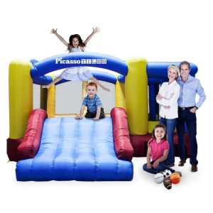 PicassoTiles [Upgrade Version] Foot Inflatable Bouncer