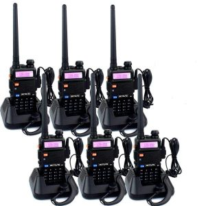 Retevis RT-5R 128CH FM Rechargeable Walkie Talkies