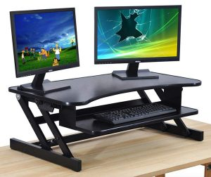 The House of Trade Standing Desk Height Adjustable