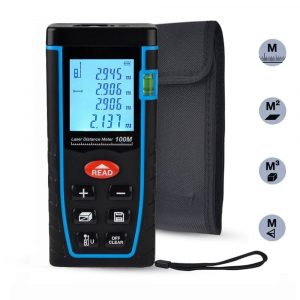 ieGeek Laser Tape Measure with an LCD Display