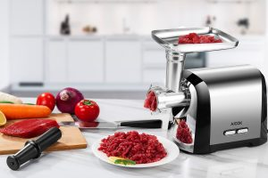 AICOK Stainless Steel Electric Meat Grinder, Home, and Commercial Use