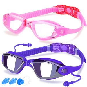 COOLOO 2-Pack Swim Goggles