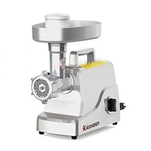 Kitchener Electric Meat Grinder with Stainless Steel Blade