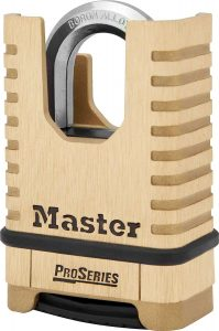 Master Lock ProSeries Padlock, 1177D Set Your Own Combination Lock