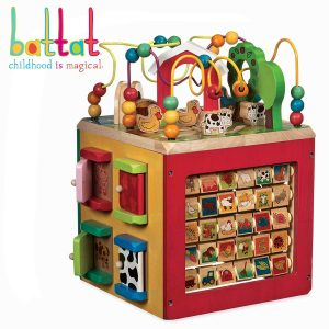 Battat Discover Activity Cube for Kids
