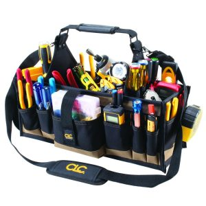 Custom Leathercraft 1530 43 Pocket Electrical Tool Bag