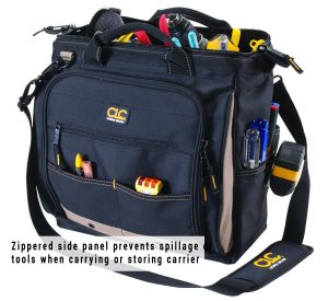 Custom Leathercraft 1537 30 Pockets Multi-Compartment Tool bag