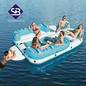 Hydro-Force 13ft 6 Person Inflatable Island