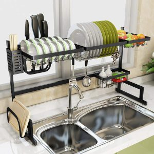 """Over Sink(32"""") Dish Drying Rack"""