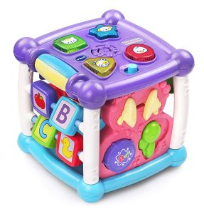 VTech Busy Learners Purple Activity Cube