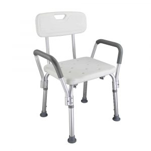Mefeir Medical Shower Chair with Arms and Back
